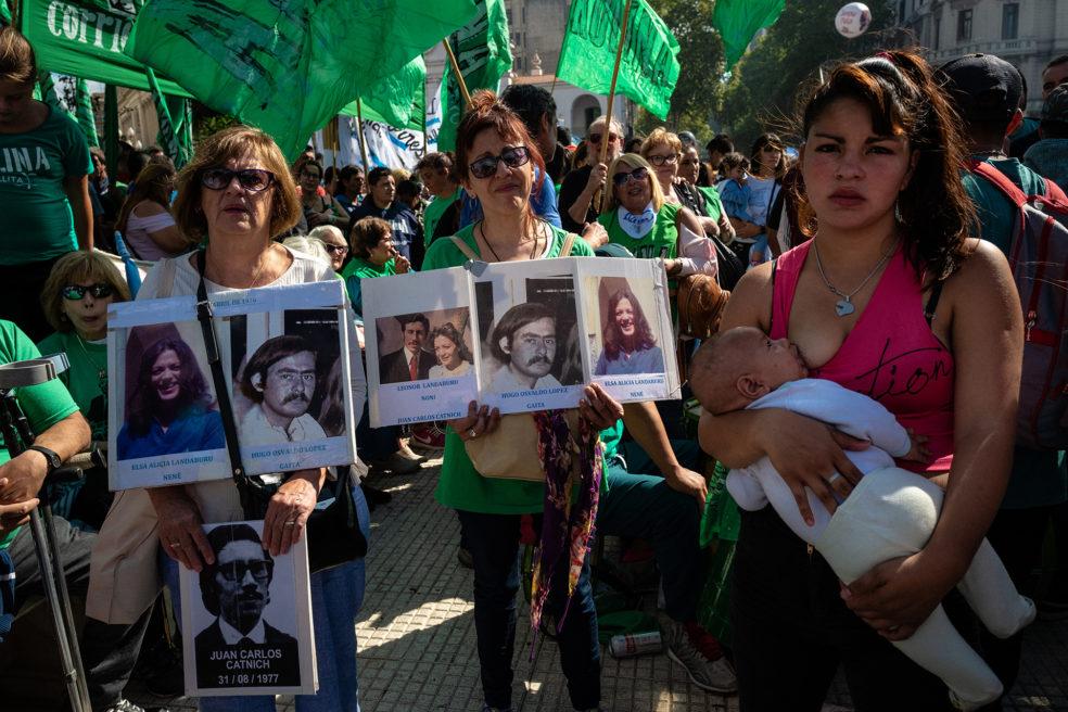 ARGENTINA: NI UN PASO ATRÁS